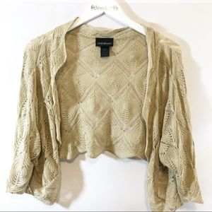 ✔️Lane Bryant knit Shrug sz 26/28
